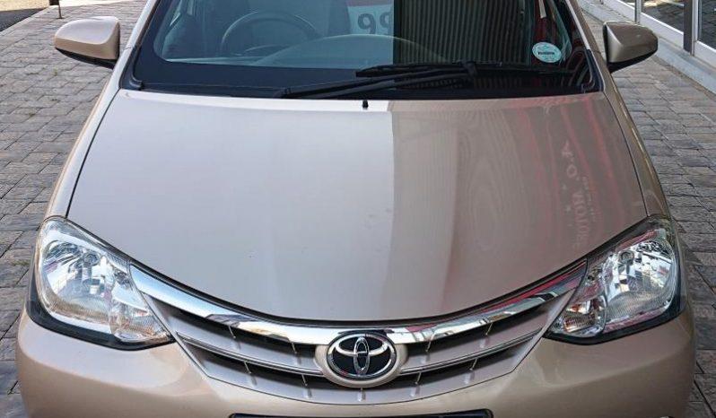 2015 Toyota Etios 1.5 XS 5DR full